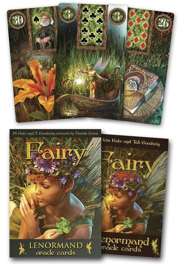 Fairy Lenormand Oracle 9788865273609-set