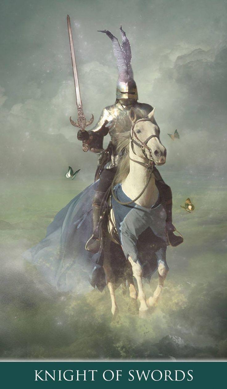 Thelema Tarot 9788865273760 knight of swords