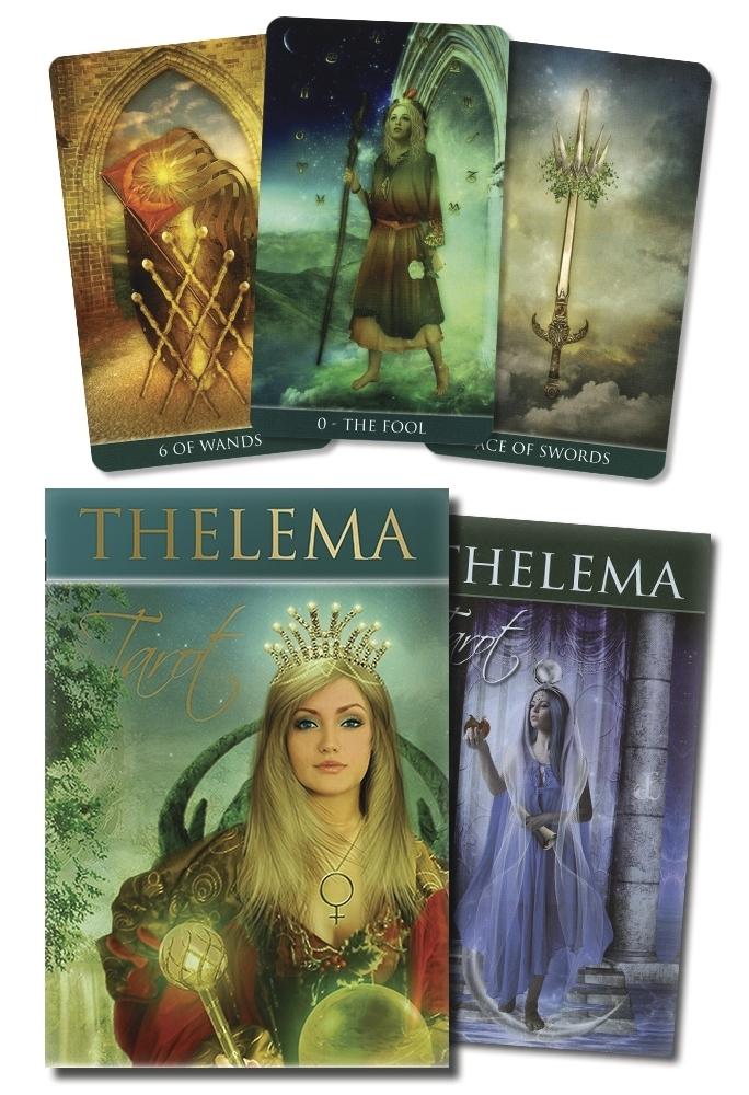 Thelema Tarot 9788865273760-set