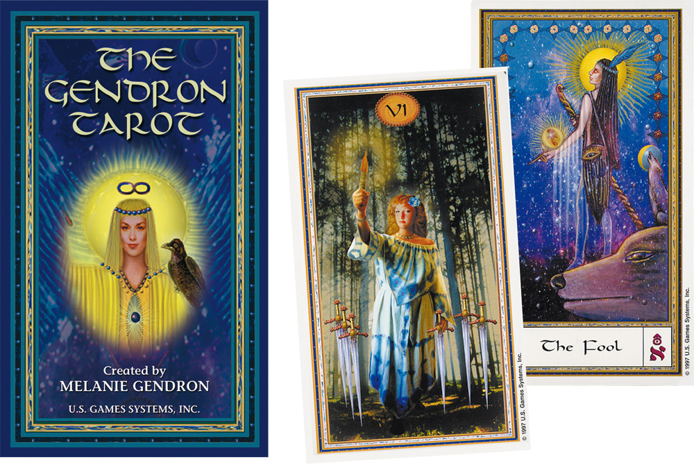 The Gendron Tarot 9781572810655-set