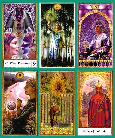 The Gendron Tarot 9781572810655-1