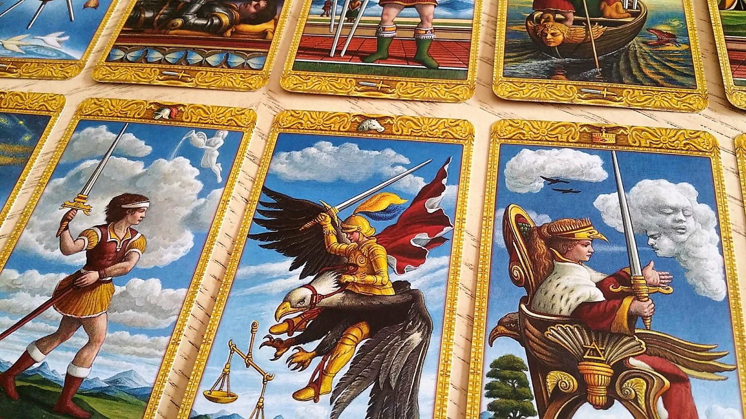 Mystical Tarot 9788865274750-spread
