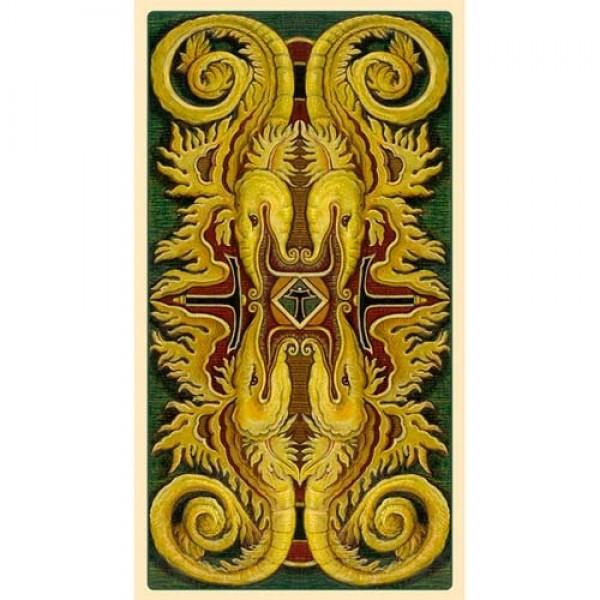 Mystical Tarot 9788865274750-backofcards