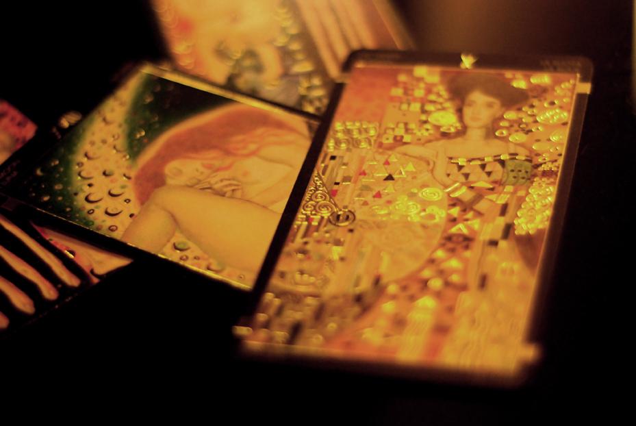 Golden tarot of Klimt 9788865271780-6