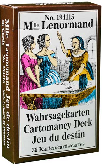 Piatnik Mlle Lenormand 194115 fortune telling cards 9001890194115-box