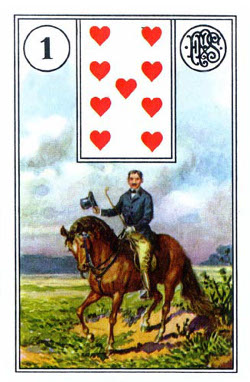 Piatnik Mlle Lenormand 194115 fortune telling cards 9001890194115-1