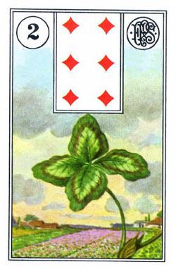 Piatnik Mlle Lenormand 194115 fortune telling cards 9001890194115-2