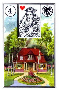 Piatnik Mlle Lenormand 194115 fortune telling cards 9001890194115-4