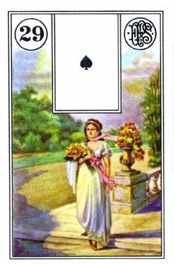 Piatnik Mlle Lenormand 194115 fortune telling cards 9001890194115-29