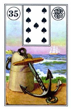 Piatnik Mlle Lenormand 194115 fortune telling cards 9001890194115-35