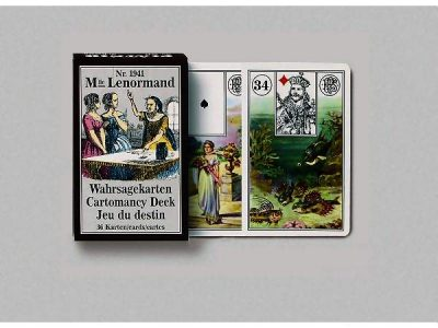 Piatnik Mlle Lenormand 194115 fortune telling cards 9001890194115-set