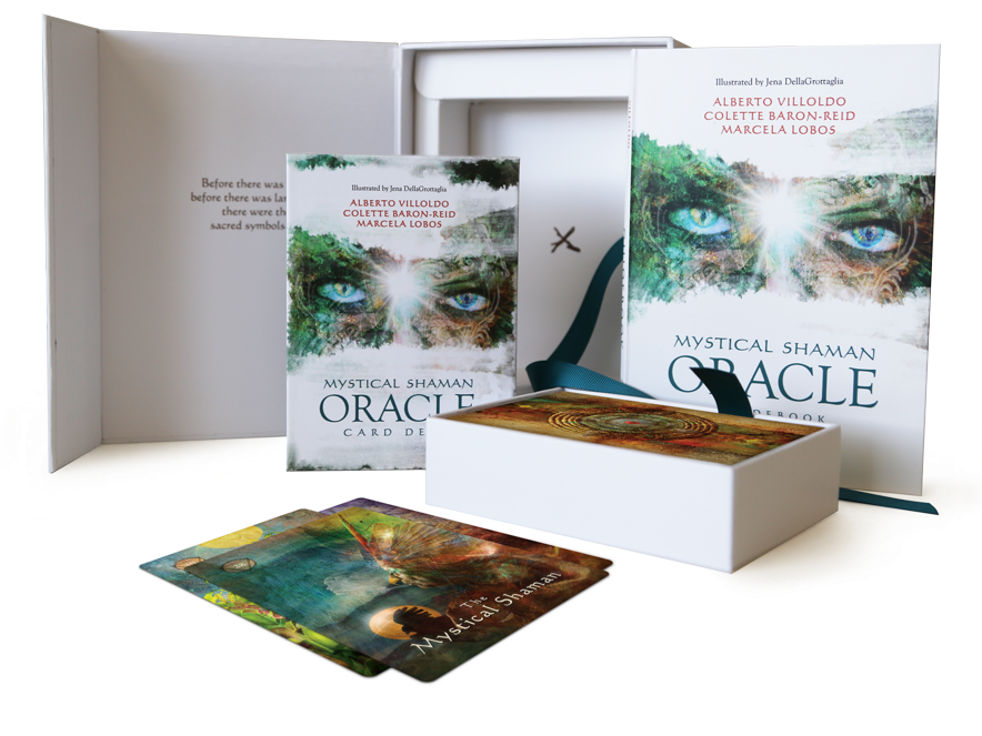 Mystical Shaman Oracle Cards 9781401952501-set
