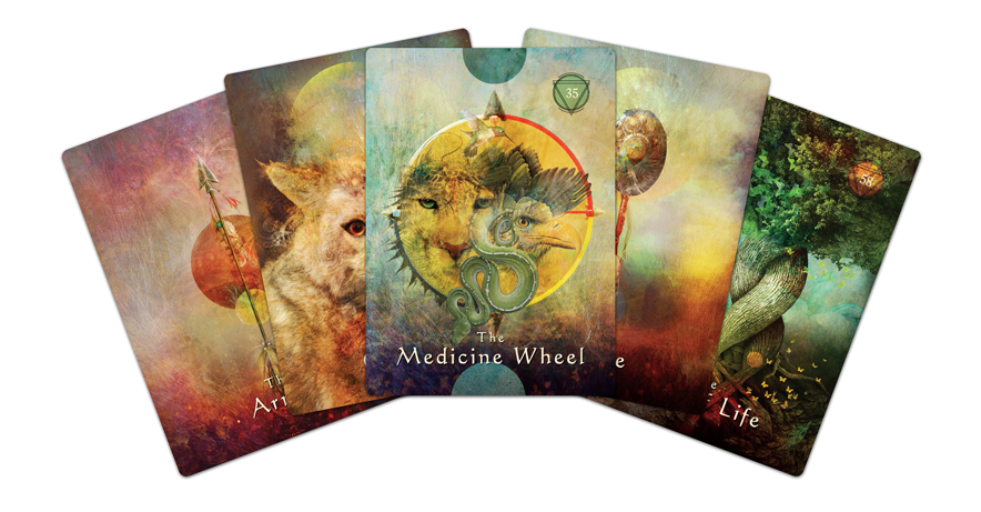 Mystical Shaman Oracle Cards 9781401952501-cards