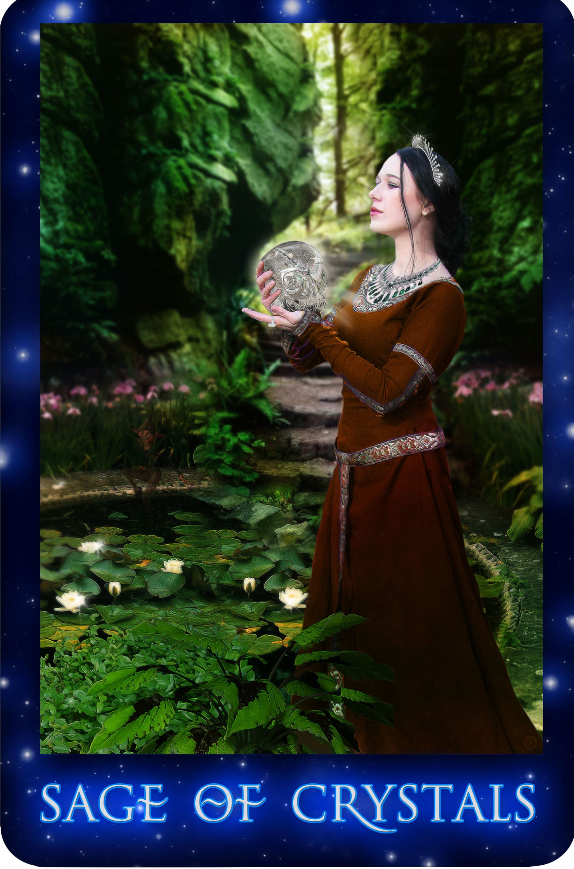 The Sirian Starseed Tarot by Patricia Cori | Queen of Cups Tarot Store