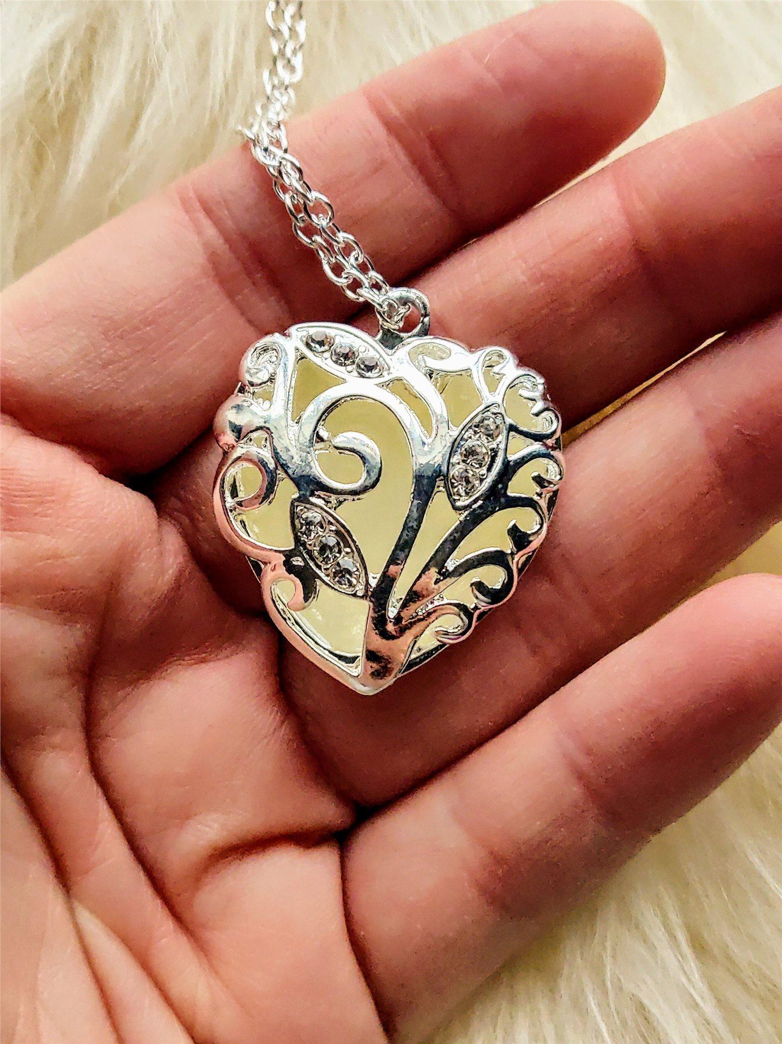 Självlysande hjärta2