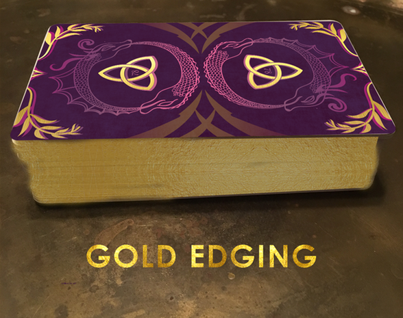 78 Tarot Mythical Golden Edges