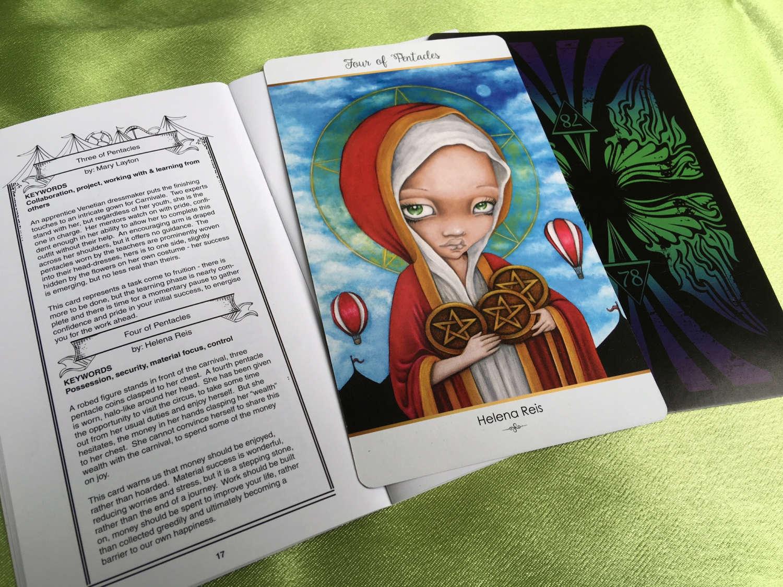 78 Tarot Carnival_book