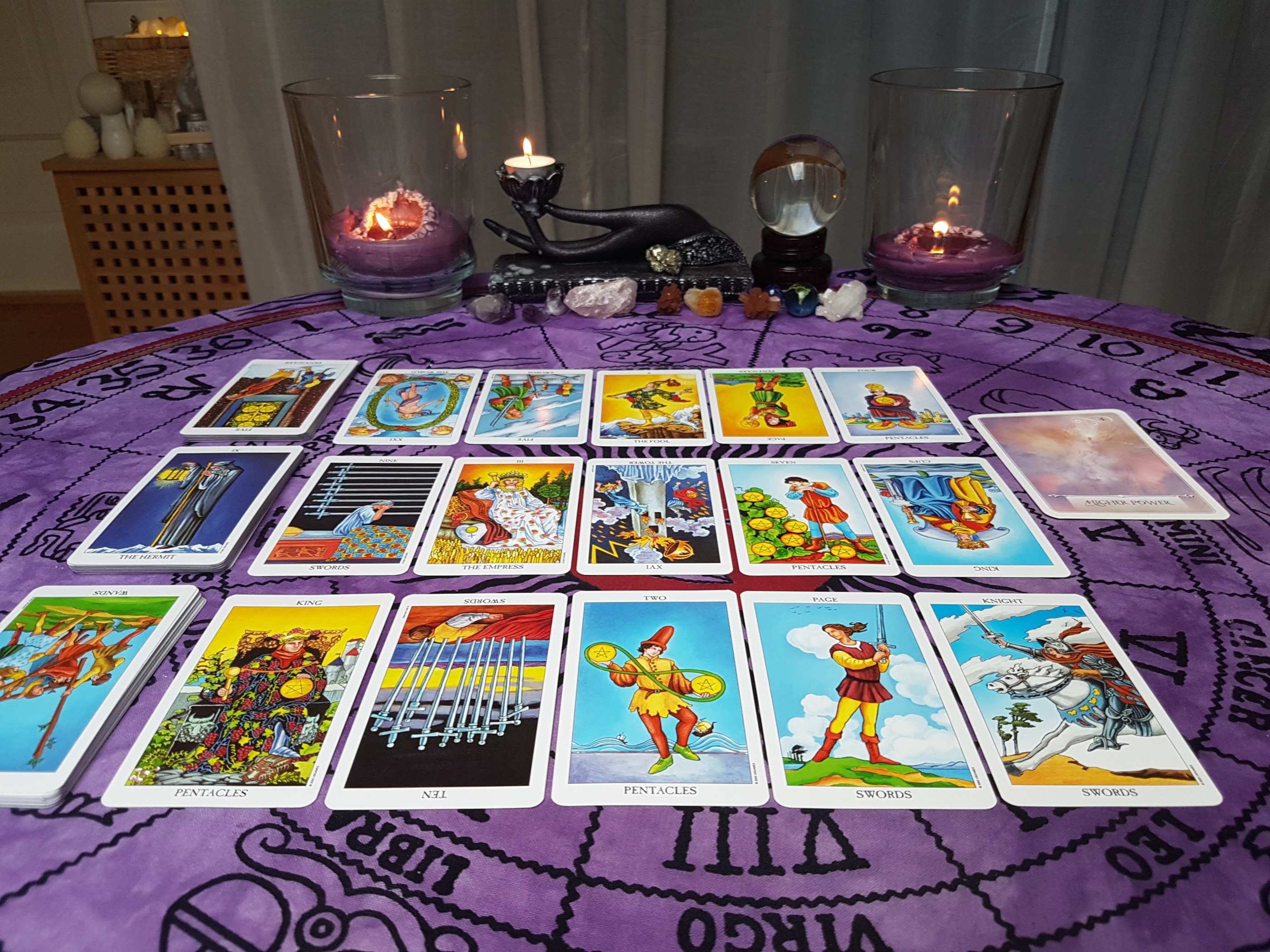 30 minute Tarot Reading, One situation/3 question - Pre
