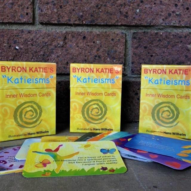 Byron Katie Inner Wisdom Cards 9780399166945