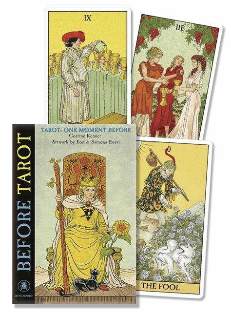 9788865275368 Before Tarot Kit