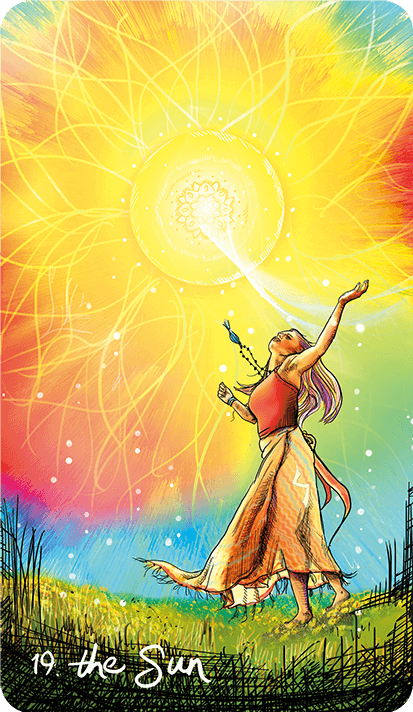 Light Seers Tarot Sun