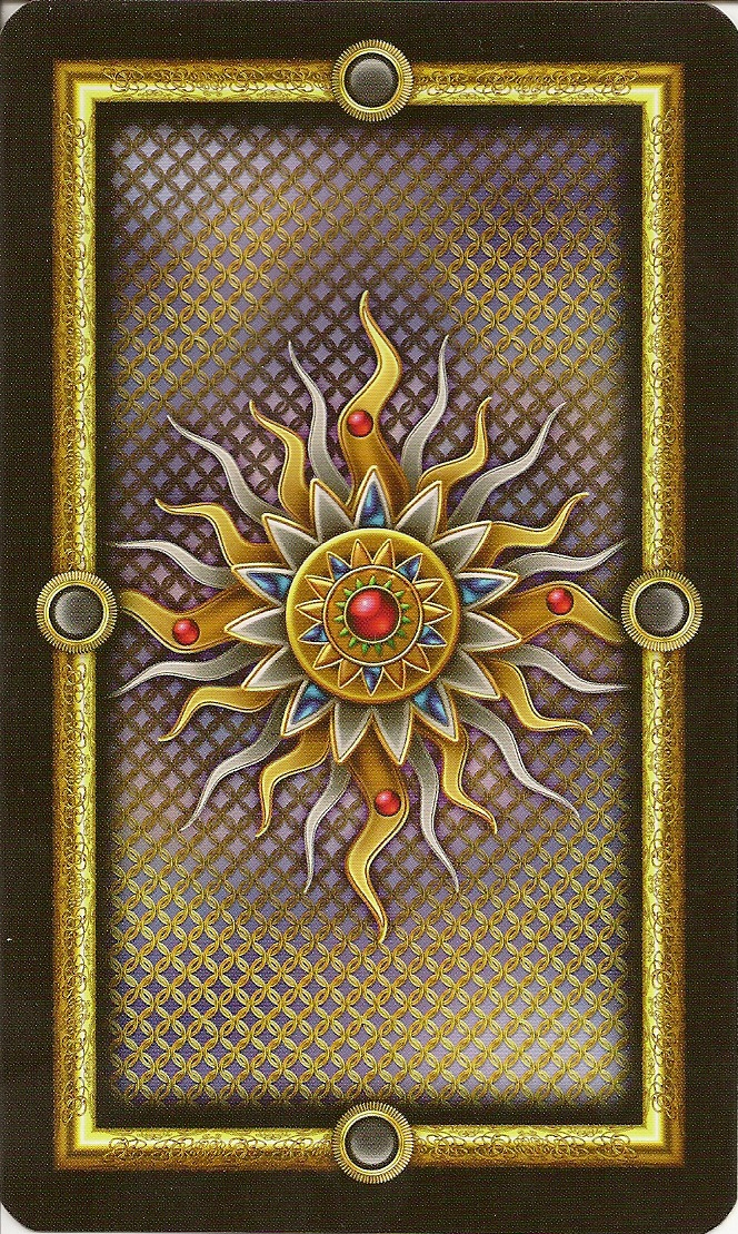 Gilded Tarot Royale back cards