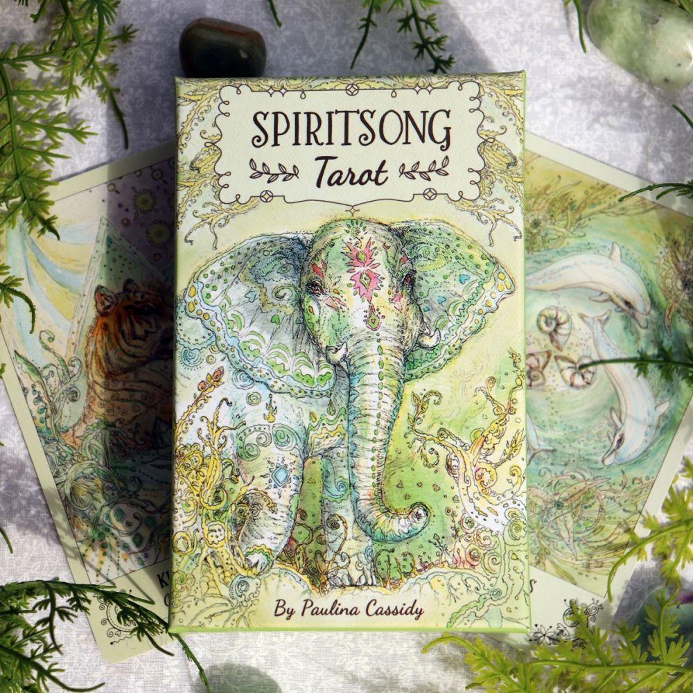 Spiritsong Tarot cover