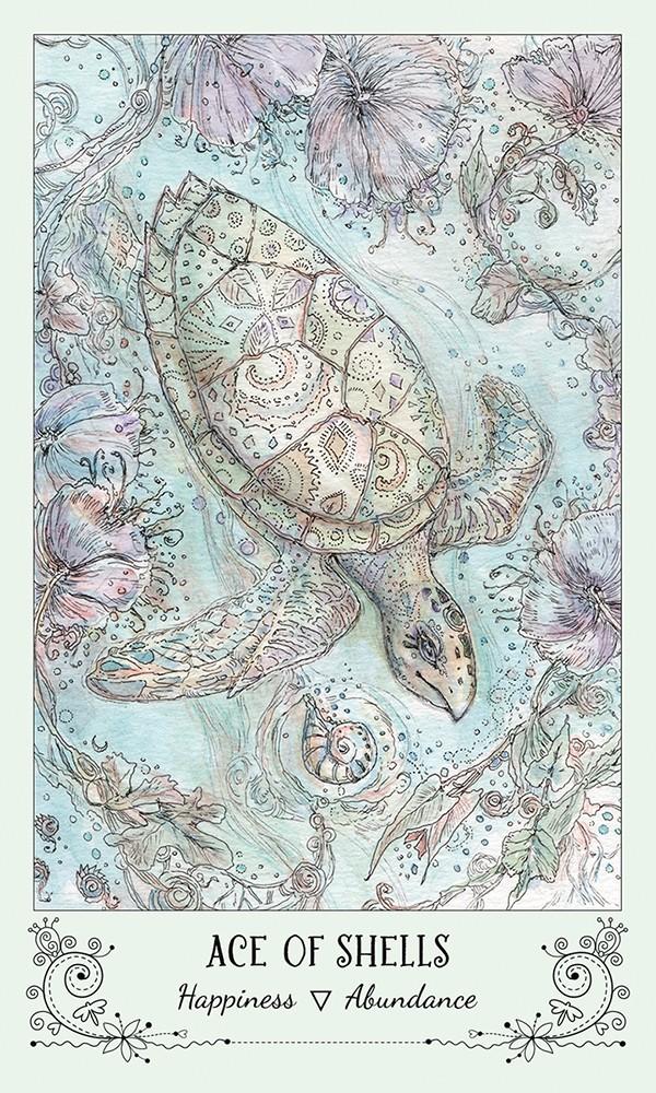 Spiritsong Tarot ace of shells