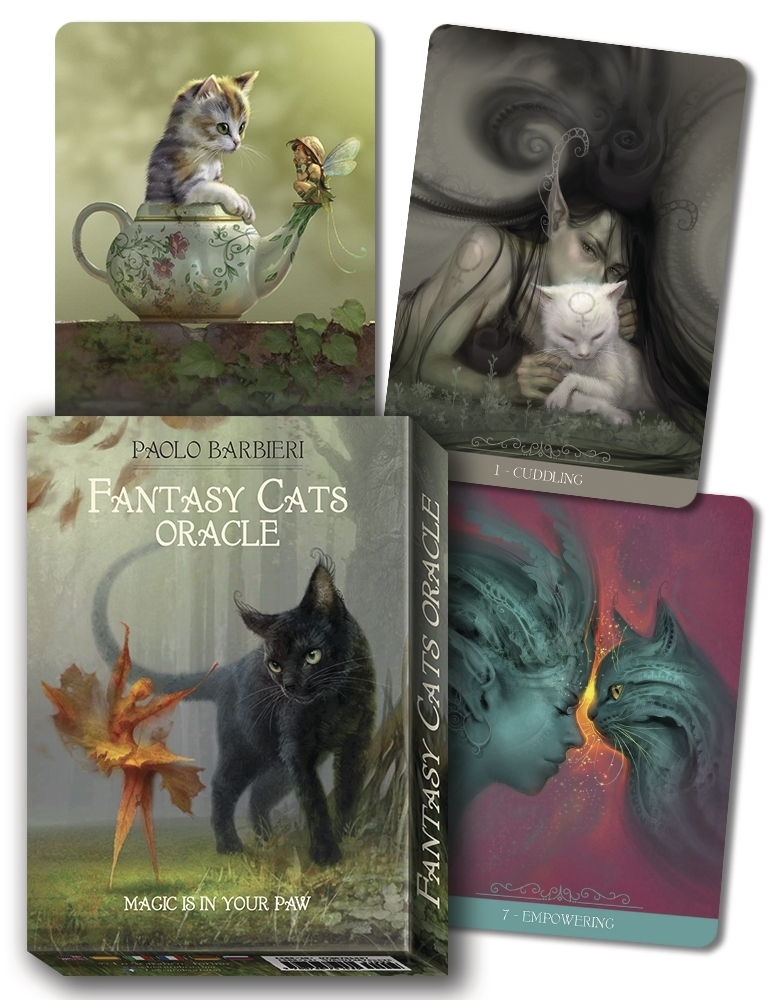 Fantasy cats oracle Barbieri 9780738763408