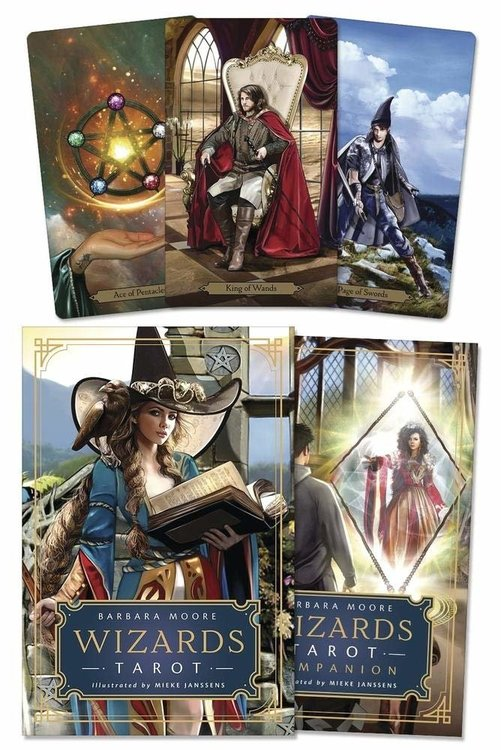 Wizards Tarot 9780738760285