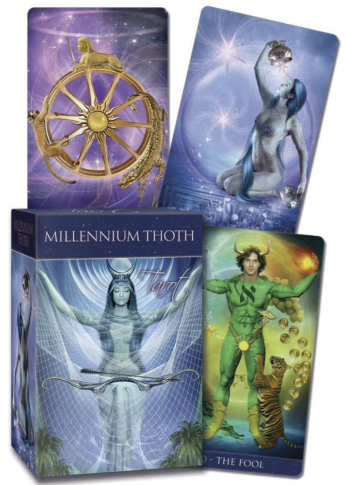 Millenium Thoth tarot 9788865275849