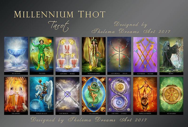 Millenium Thoth tarot 9788865275849_1