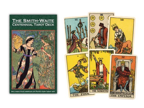 Smith Waite tarot centennial edition 9781572817623