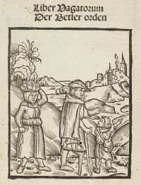 "Liber Vagatorum ""Book of Vagabonds"" from 1510"