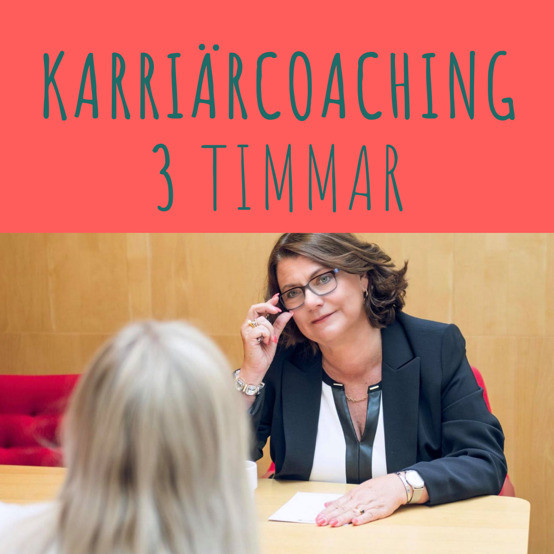 Karriärcoaching 3 tim