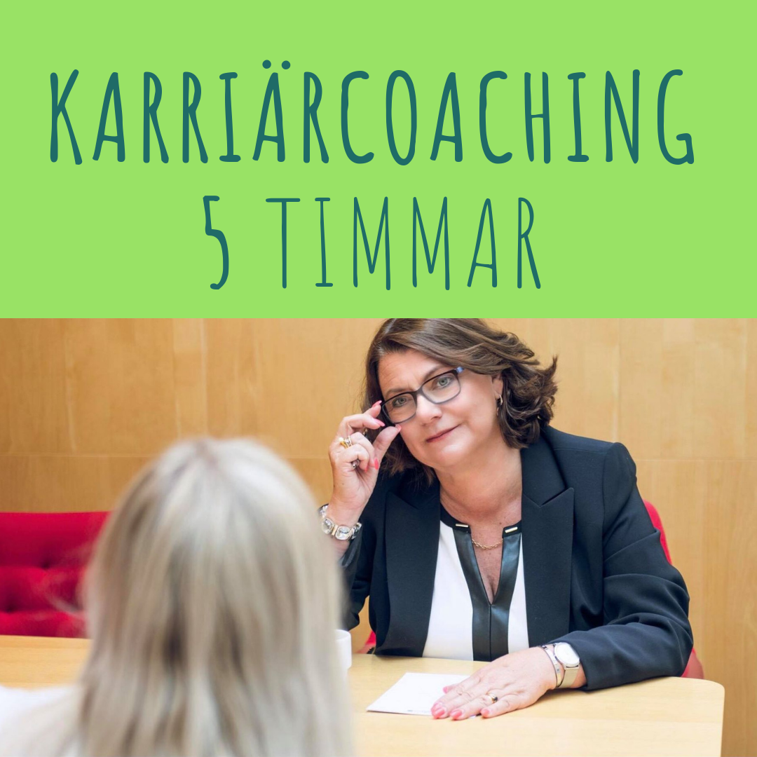 Karriärcoaching 5 tim