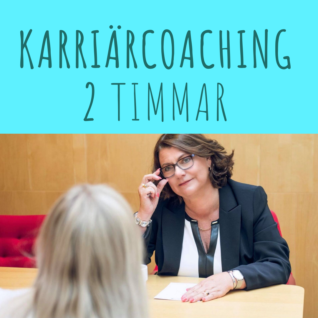 Karriärcoaching 2 tim