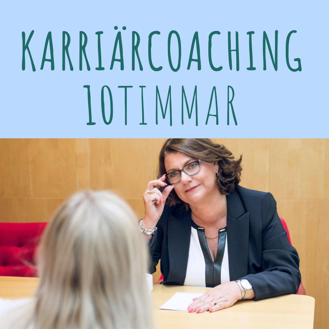 Karriärcoaching 10 tim