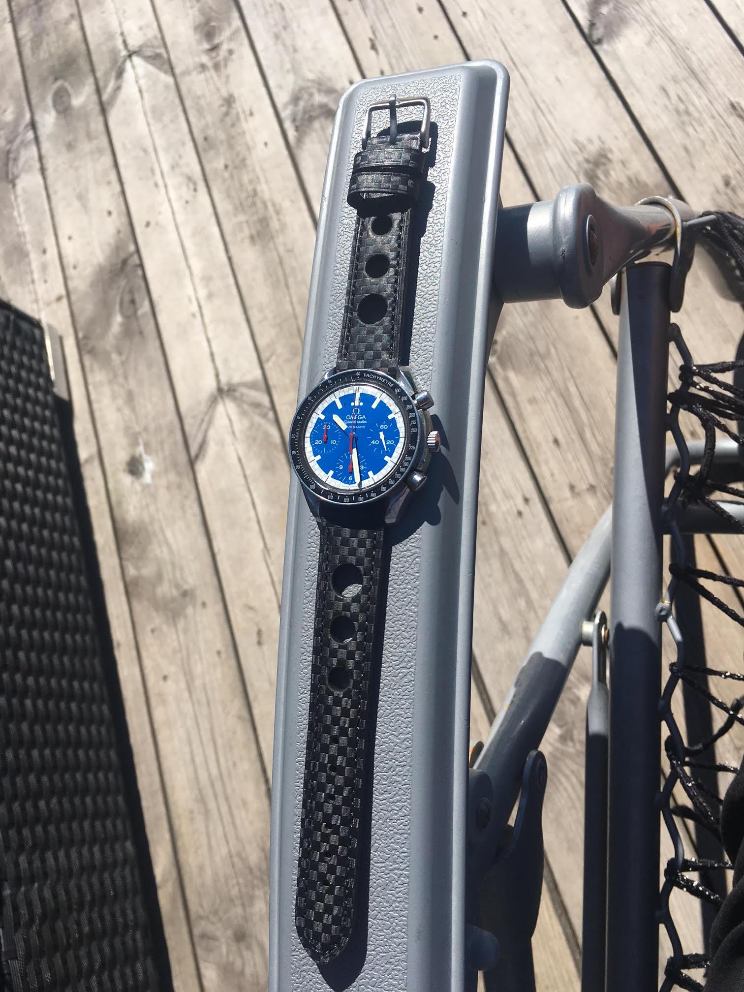 Kundbild - 18 mm på Omega Speedmaster