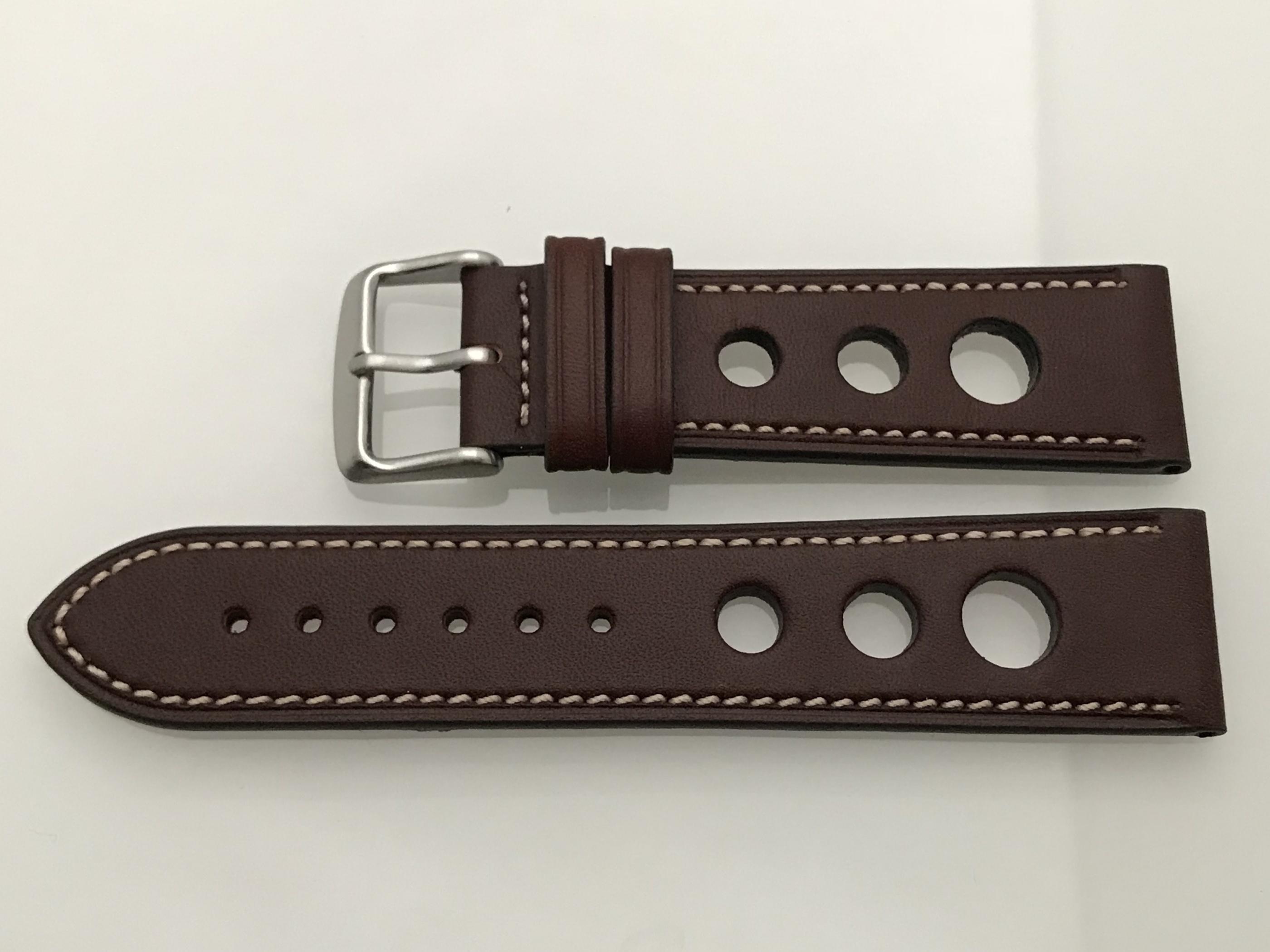 22 mm mörkbrun