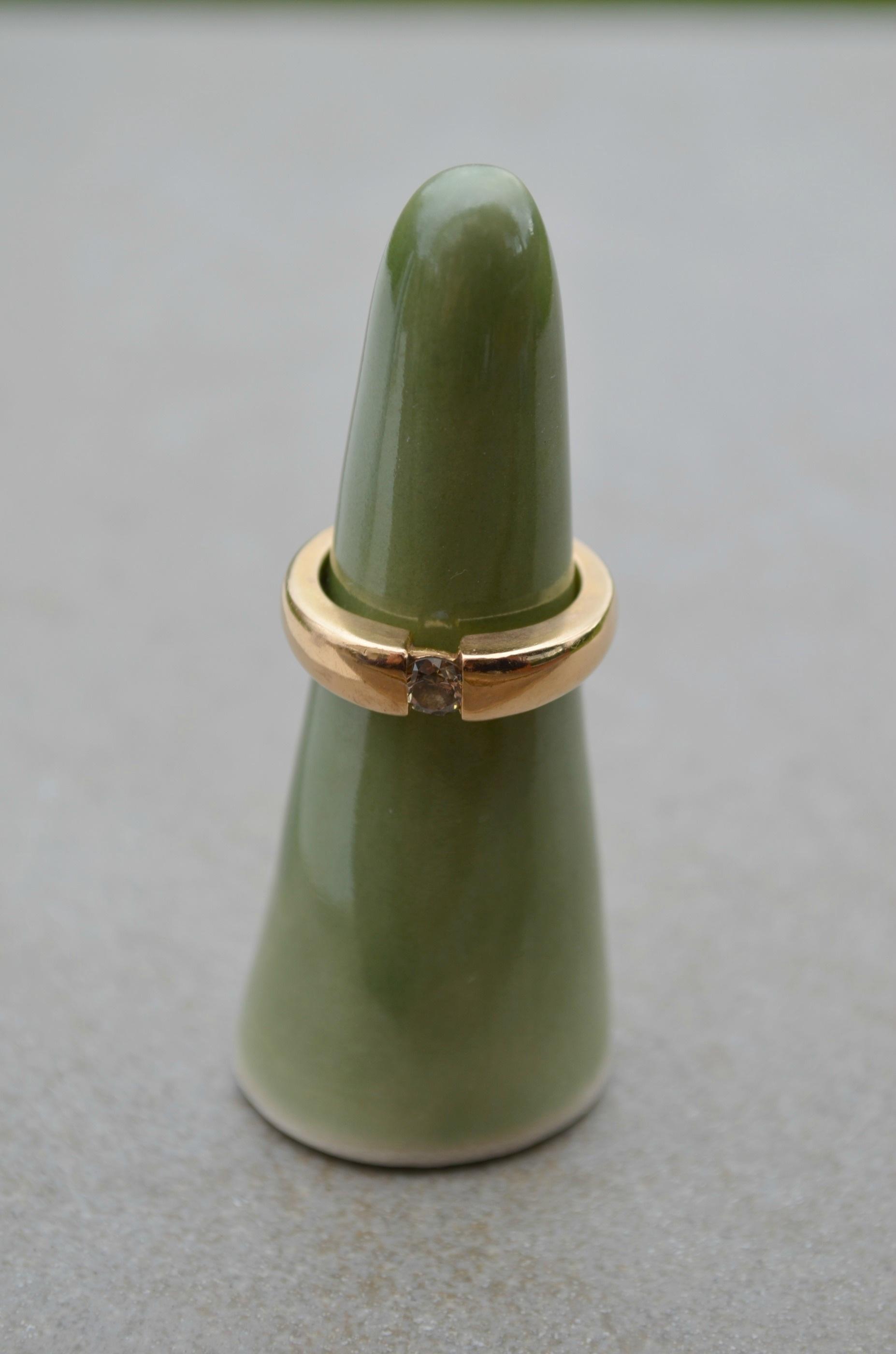 Ringkon, grön blank
