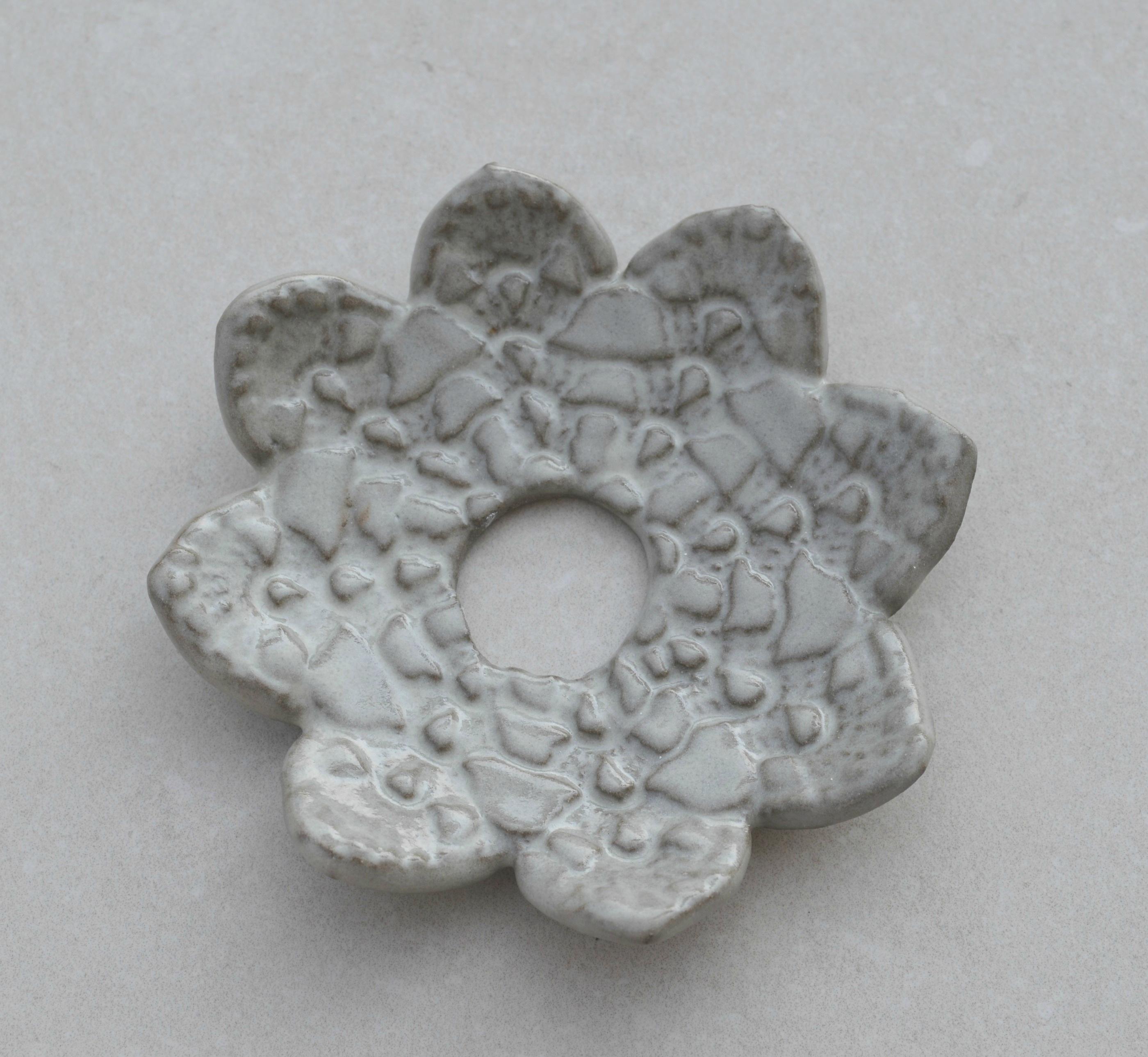 Ljusmanschett, antracit lera