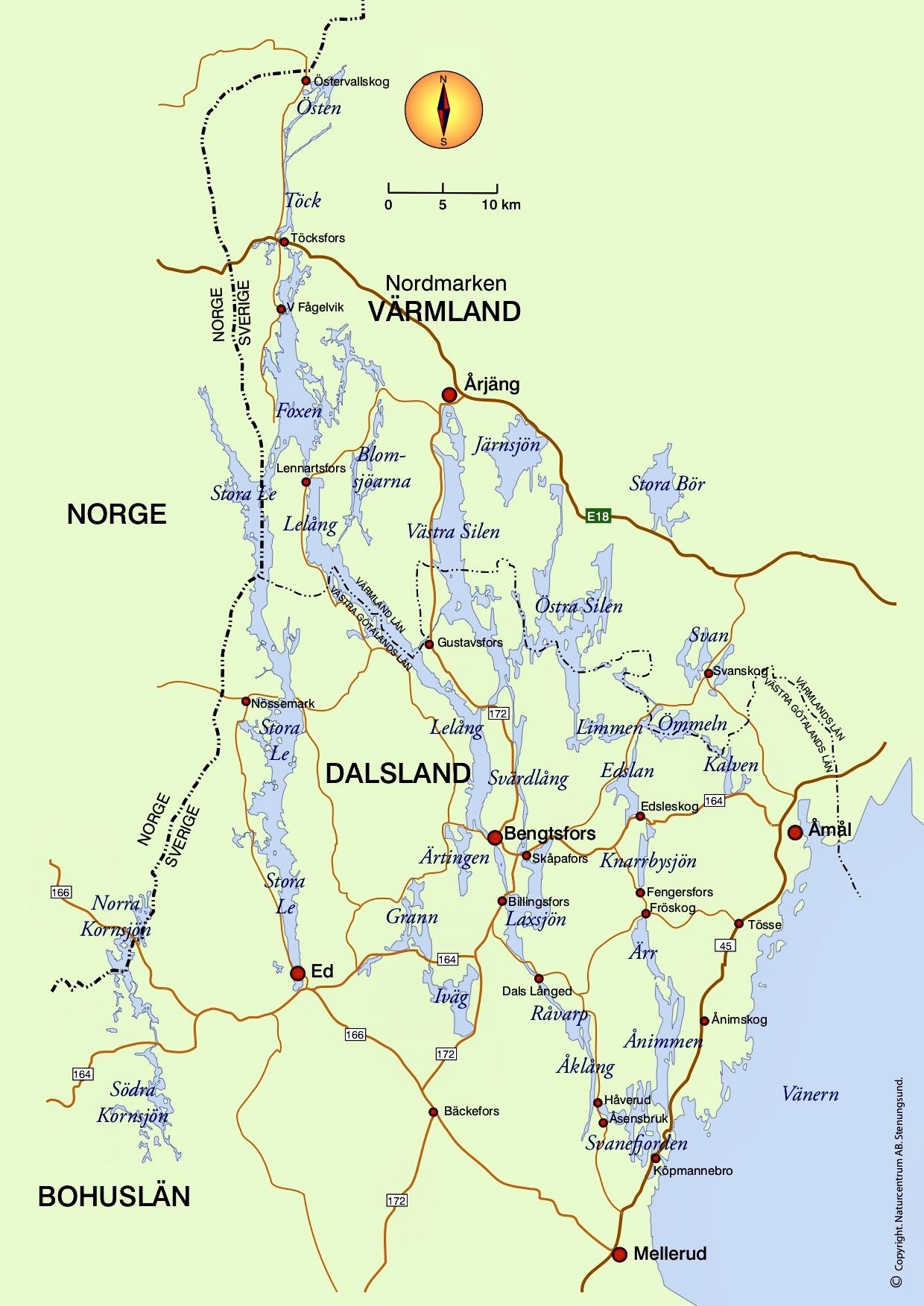 karta dalsland Karta   Årjängs bildgalleri karta dalsland