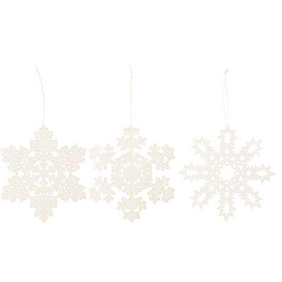 Snöflingor i papper Ib Laursen (3 st) - Snöflingor i papper Ib Laursen