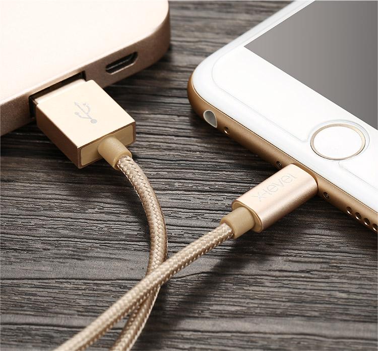 IPhone laddare i guld | Prylkonsulten