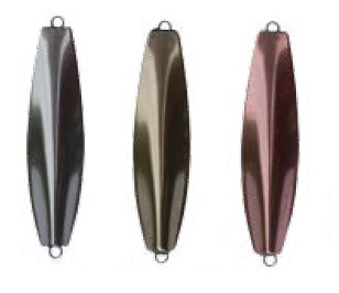 Loke pirken - 40 mm Silver/silver