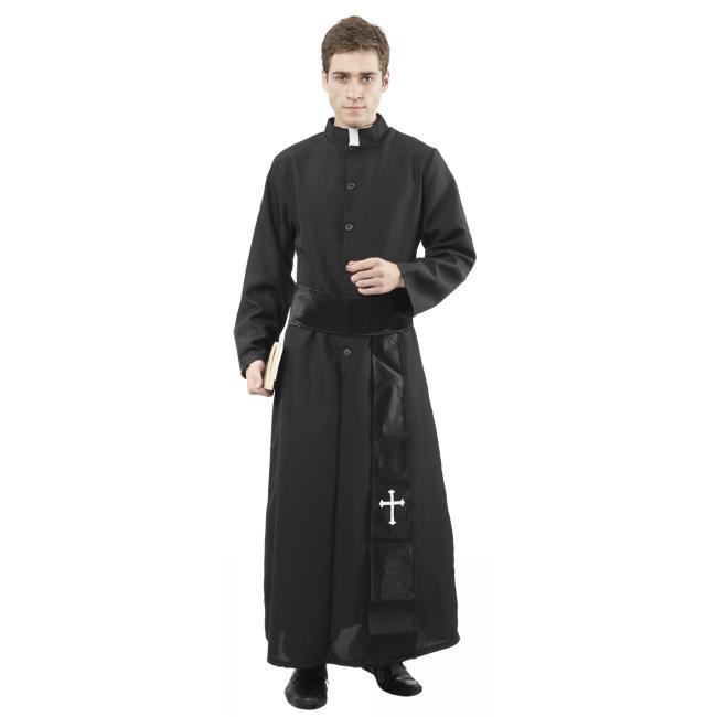 Dräkt Präst katolsk one-size  ba3bef69280fc