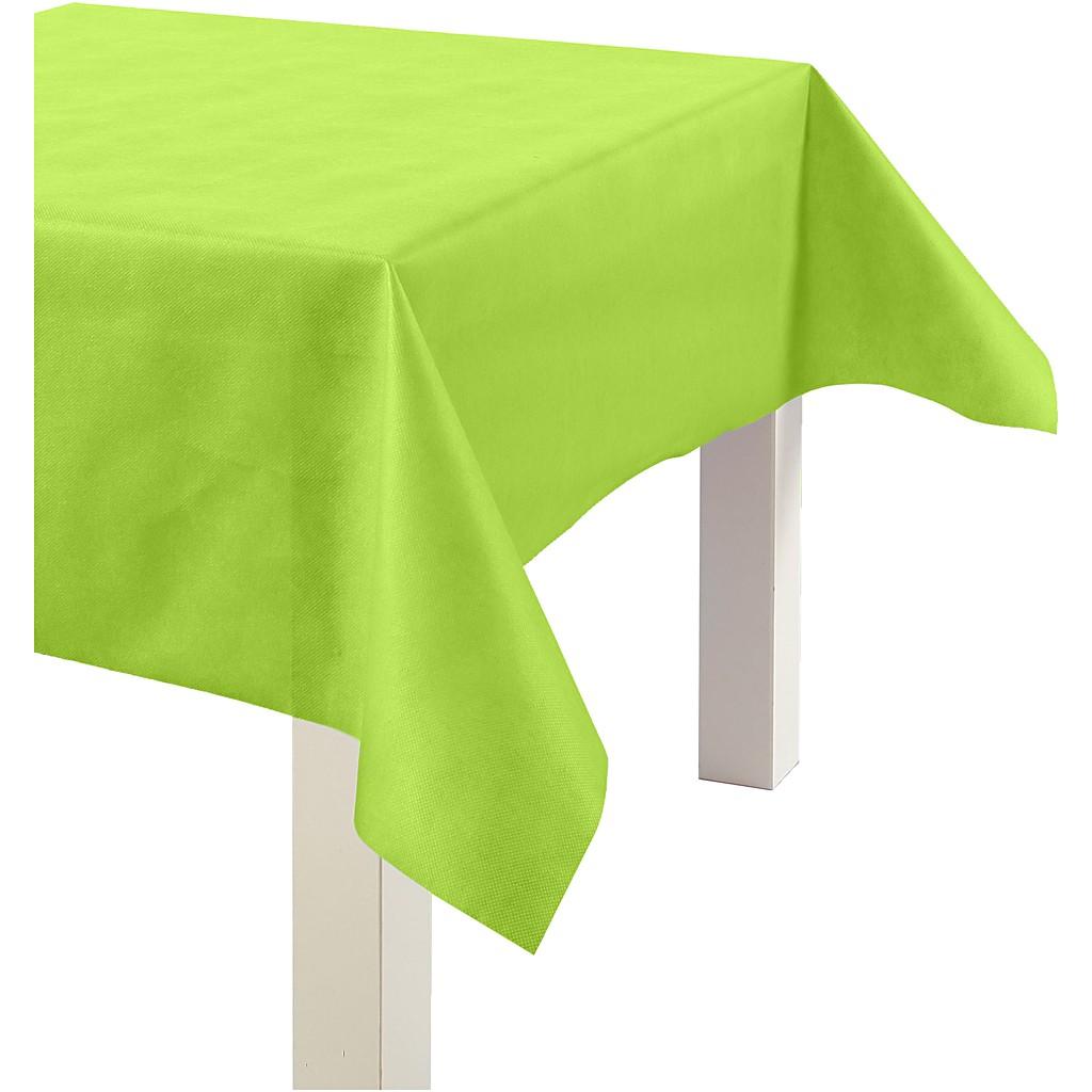 limegrön duk