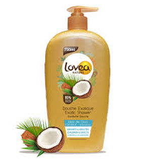 Lovea Nature Coconut showergel 750ml - Lovea Nature Coconut showergel 750ml