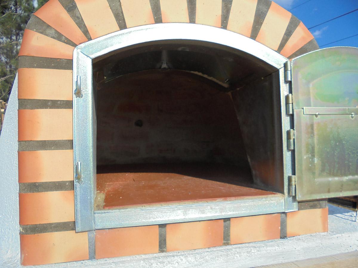 Lucka i galvad plåt 37x30 cm Pizzaugn | Vedugn | Stenugn Budget